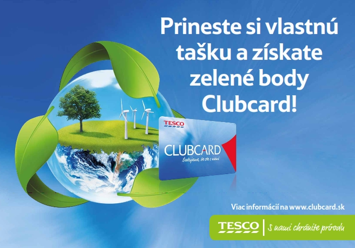 Zelené body Clubcard