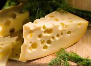 Diery vo švajčiarskom syre