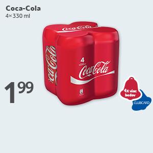 4x viac bodov s Coca-Cola
