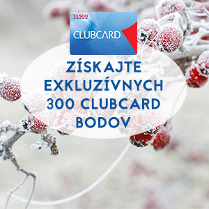 Radosť zo skvelých výhod. To je Clubcard.