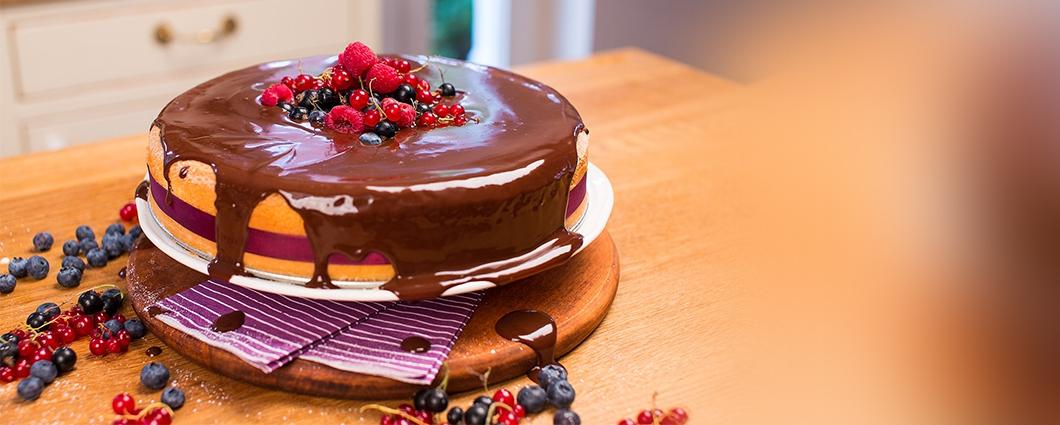 Čokoládová poleva ako lusk