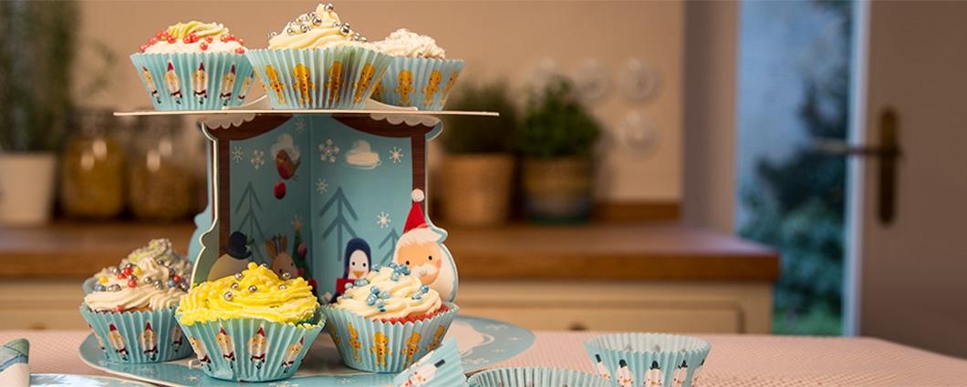 Vianočné cupcakes