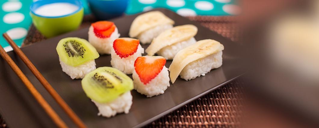 Ovocné sushi