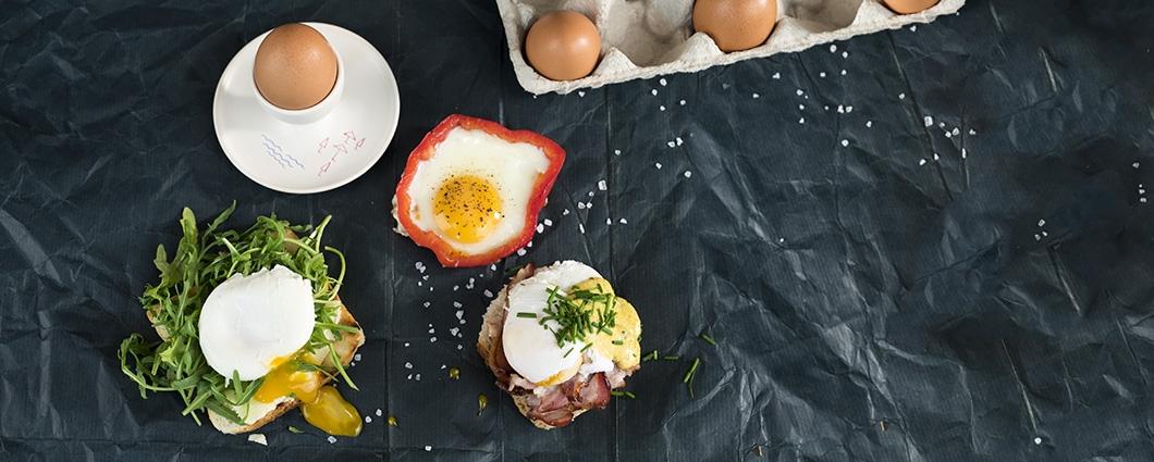 5 tipov na raňajky z vajec