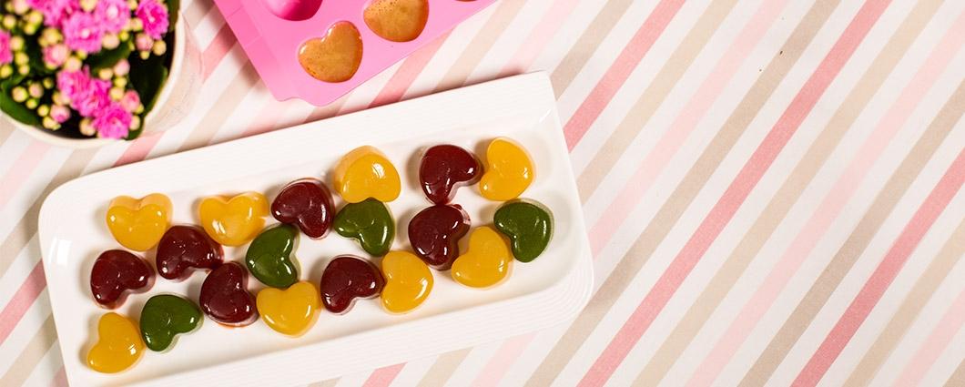 Domáce želé cukríky