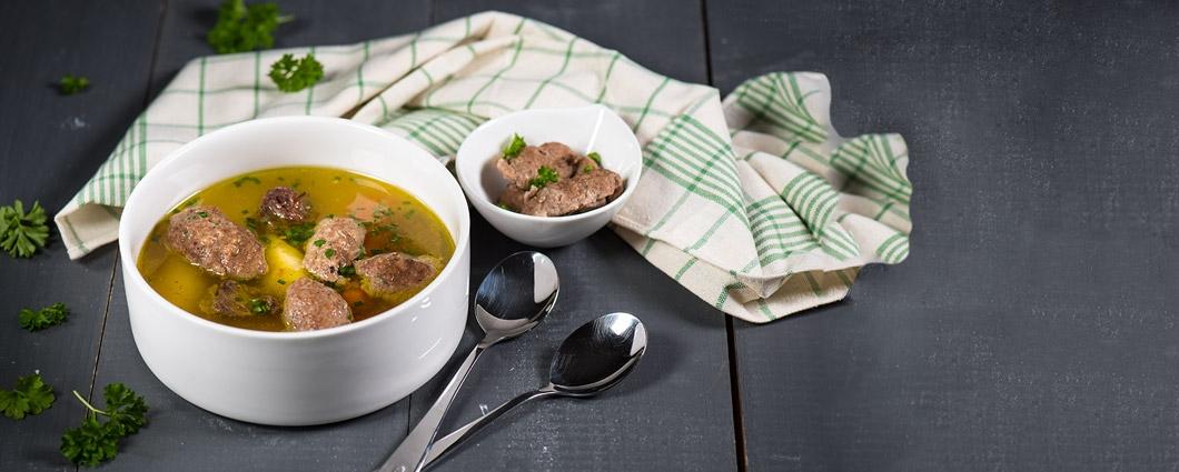 Pečeňové knedličky do polievky