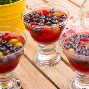 Bublinky s ovocím