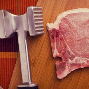 Ako vyklepať mäso?