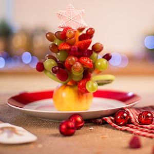 Vianočný ovocný stromček