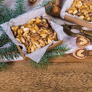 Karamelizované orechy