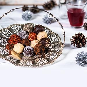 Vianočné koláčikové guľôčky