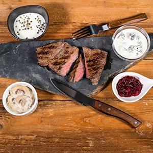 Omáčky k steakom