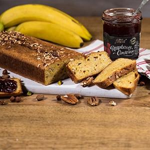 Banánovo-mrkvový chlebík