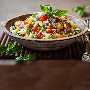 Quinoa šalát so zeleninou