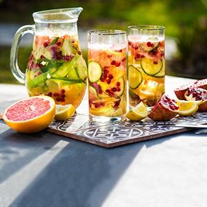 Uhorkovo-grepová limonáda