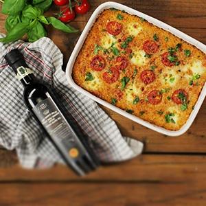 Paradajková quinoa s mozzarellou