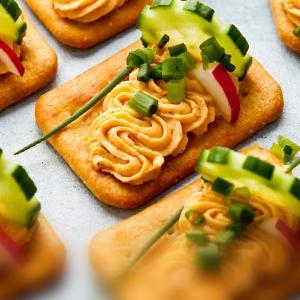 Chlebíčky z krekrov