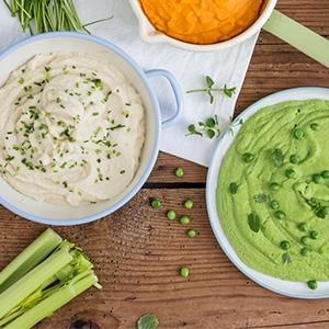 Zeleninová kaša na tri spôsoby