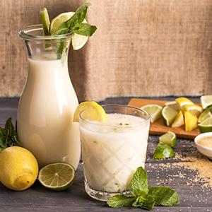 Krémová limonáda z limetiek