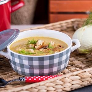 Feniklovo-zelerová polievka